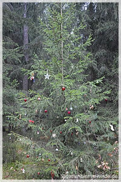 Geschmückter Baum